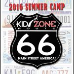 2016 Kid Zone Summer Camps