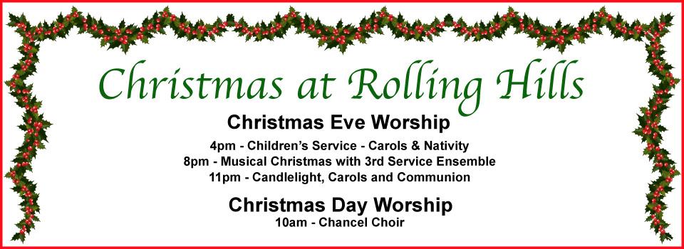 Christmas Eve & Christmas Day Worship