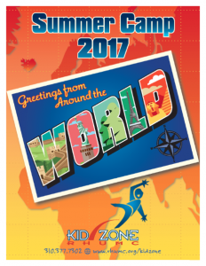 Kid Zone Camp Brochure - click here