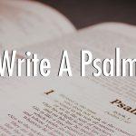 Write Like a Psalmist!