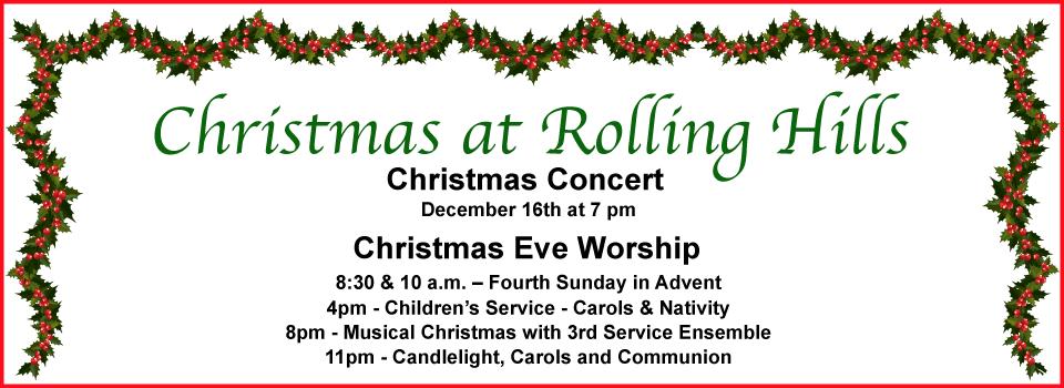 Advent & Christmas Eve